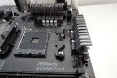 asrock-B450M-pro4-heatsinks