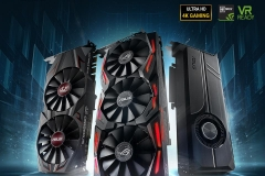 ASUS GeForce GTX1070Ti Series
