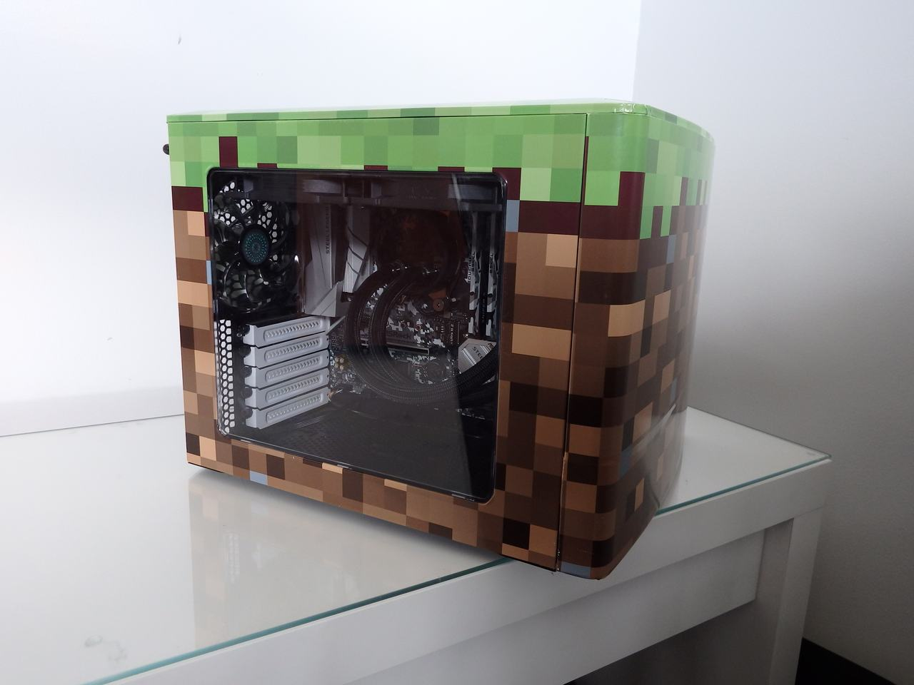 Minecraft PC Finished - left