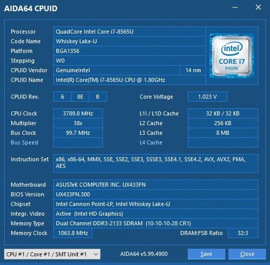 ASUS-UX433-aida64-cpuid