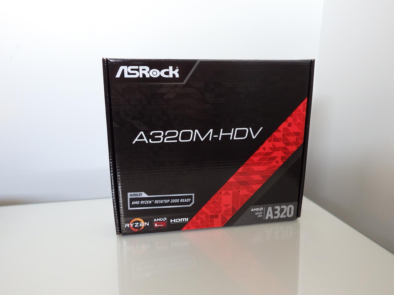 Reviewed: ASRock A320M-HDV - PC Tech Reviews Australia