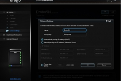 drobo desktop settings